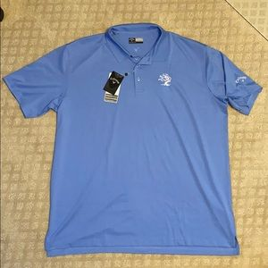 Callaway Golf Polo with Tree House Brewing Logo